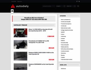 autodiely.autorubik.sk screenshot