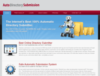 autodirectorysubmission.com screenshot