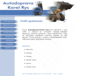 autodoprava-rys.com screenshot