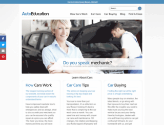 autoeducation.com screenshot