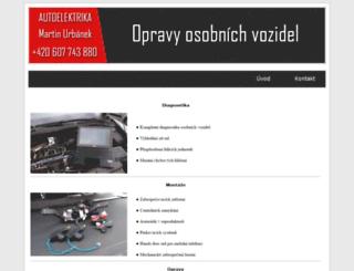 autoelektrika.eu screenshot