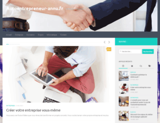 autoentrepreneur-annu.fr screenshot