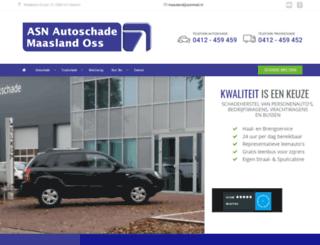 autoentruckschademaasland.nl screenshot