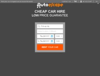 autoescape.es screenshot