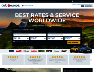 autoeurope.com screenshot