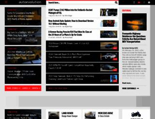 autoevolution.com screenshot