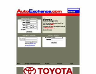 autoexchange.com screenshot