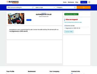autoexplorer.co.uk screenshot