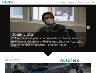 autofaro.com.ar screenshot