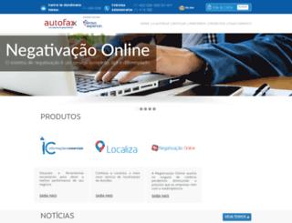 autofax.com.br screenshot