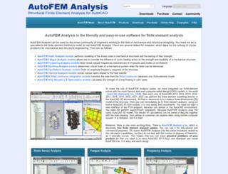 autofemsoft.com screenshot