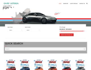 autofind.co.za screenshot