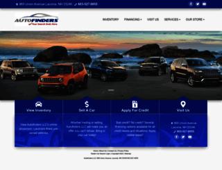 autofindersnh.com screenshot