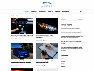autofolie.org screenshot