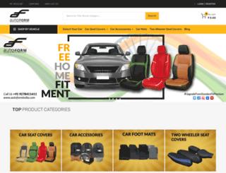 autoformindia.com screenshot