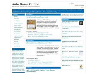 autogameonline.com screenshot