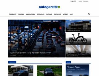 autogazette.de screenshot