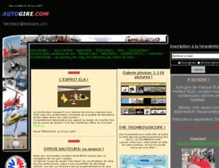 autogire.nuxit.net screenshot