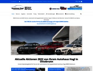 autohaus-hagl.de screenshot