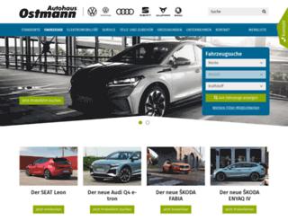 autohaus-ostmann.de screenshot