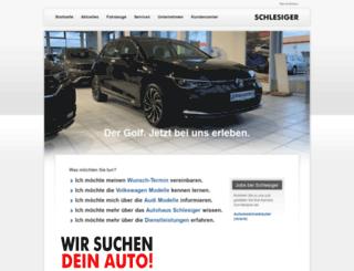 autohaus-schlesiger.de screenshot