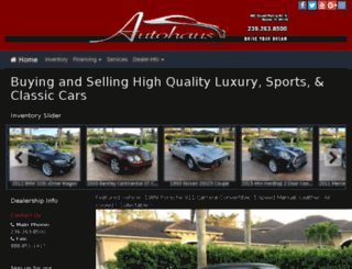 autohausfl.com screenshot