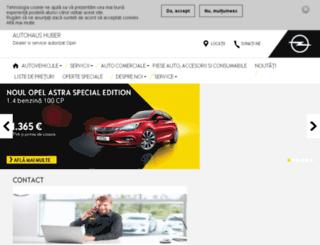 autohaushuber.ro screenshot