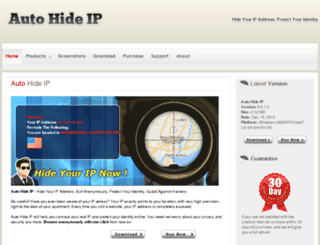 autohideip.com screenshot