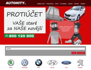 autohity.cz screenshot