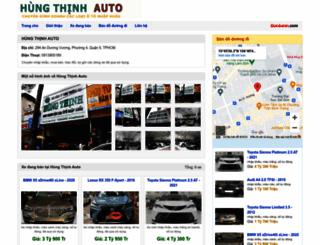autohungthinh.bonbanh.com screenshot