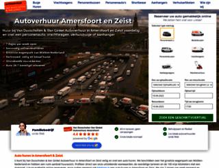 autohurenamersfoort.nl screenshot
