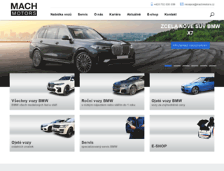 autoimportmach.cz screenshot