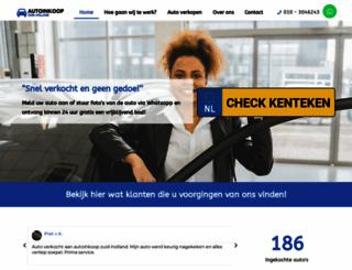 autoinkooprijnmond.nl screenshot