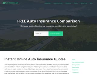 autoinsuranceape.com screenshot