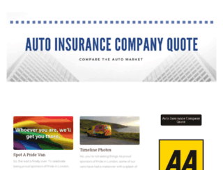 autoinsurancecompanyquote.com screenshot