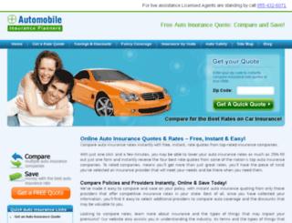 autoinsuranceplanners.com screenshot