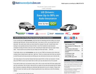 autoinsurancequoteszone.com screenshot