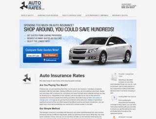 autoinsurancerates.com screenshot