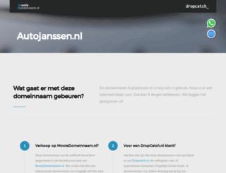 autojanssen.nl screenshot