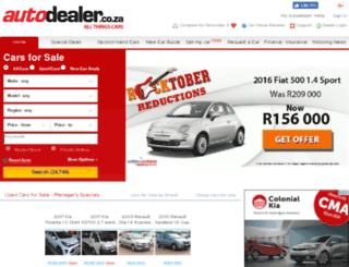 autojunction.co.za screenshot