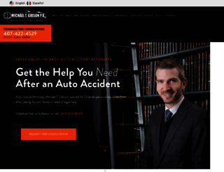 autojusticeattorney.com screenshot