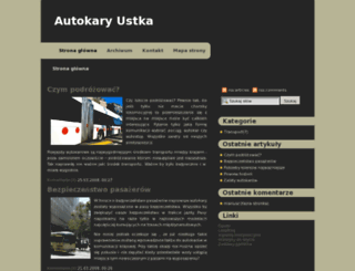 autokary.ustka.pl screenshot