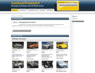 autokauf-probefahrt.de screenshot