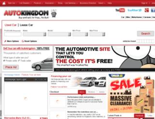 autokingdom.co.uk screenshot