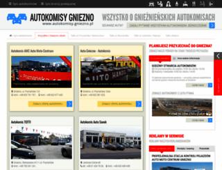 autokomisy.gniezno.pl screenshot