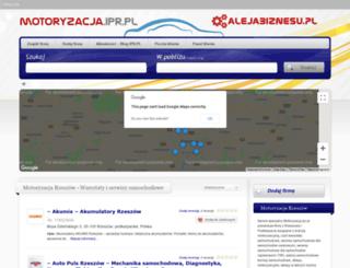 autokomisy.ipr.pl screenshot