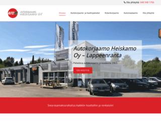 autokorjaamoheiskamo.fi screenshot