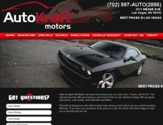 autokraftmotors.com screenshot