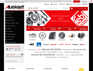 autokseft.cz screenshot