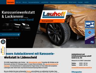 autolackiererei-lauhoff.de screenshot
